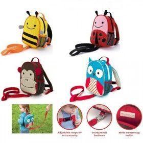 Skip hop zoo ladybug детский рюкзак с поводком купить рюкзак реал мадрид