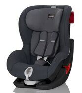 Britax Römer King II Storm Grey Black Series