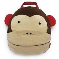 SKIP HOP Игрушка - подушка - плед в дорогу  Zoo Travel Blanket